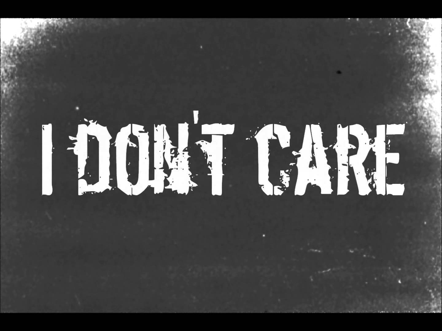 I DON'T CARE ANYMORE | Curt Harding